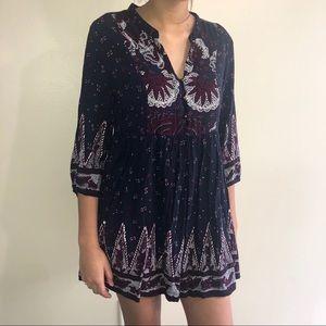Forever 21 3/4 sleeves short dress M